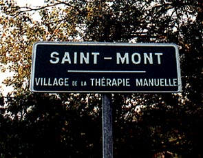 placa de Saint-Mont