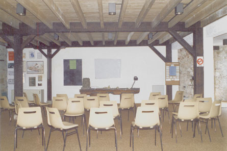 sala do curso de RPG Souchard em Saint-Mont